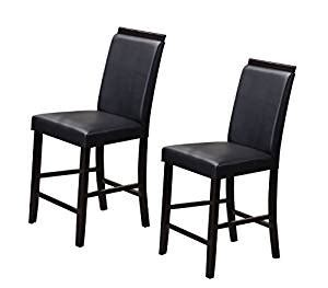 kings brand black metal dining room chair with vinyl seat amazon com kings brand furniture counter parsons dining
