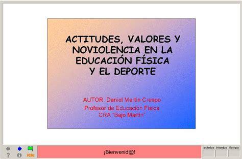 recursos educativos para la clase de educacin fsica el blog de actitudes valores y noviolencia en la educaci 243 n f 237 sica y