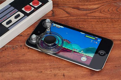 Mobile Joystick Grade A mobile cell phone accessories joystick for smartphones fling mini from ten one design