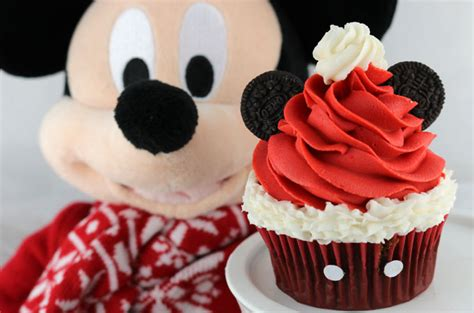 New Home Decorations by Mickey Mouse Santa Hat Cupcakes Two Sisters
