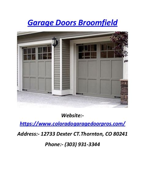 Garage Door Repair Denver Co Repair And Service For Garage Door Repair Denver Co