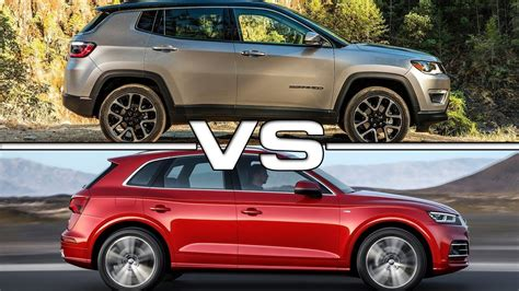 audi jeep 2017 2017 jeep compass vs 2017 audi q5