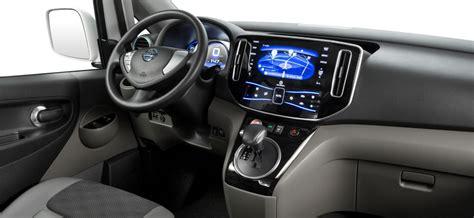 Nv200 Interior by Nissan E Nv200 Interior Inside Evs