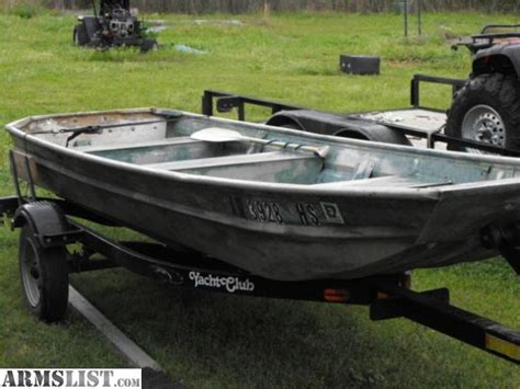 flat bottom boats for sale arkansas armslist for sale 14 aluminum flat bottom and trailer