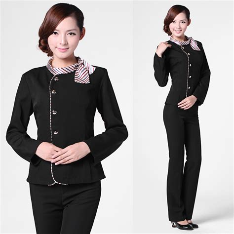 work wear front desk clothes stewardess