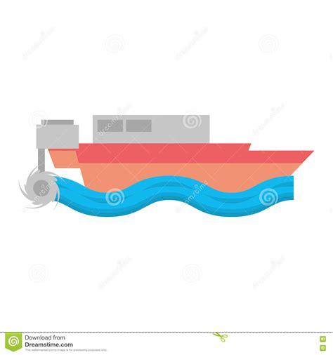 cartoon boat waves cartoon sea ship and wave cartoon vector cartoondealer