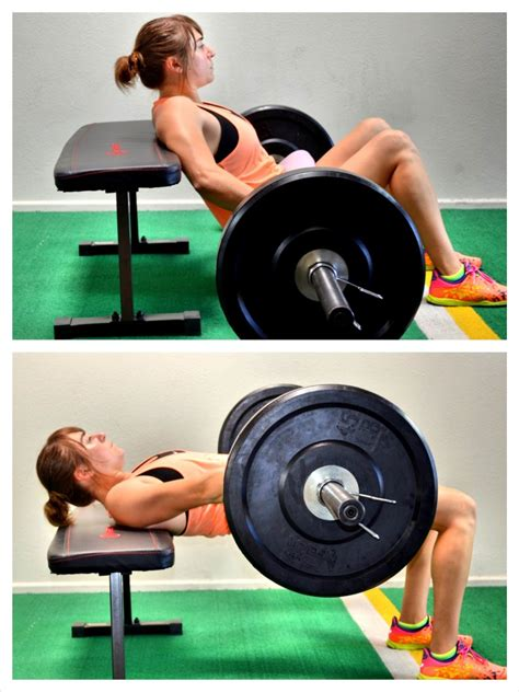 glute bridge on bench are weighted hip thrusts the heavy lifting form of glute