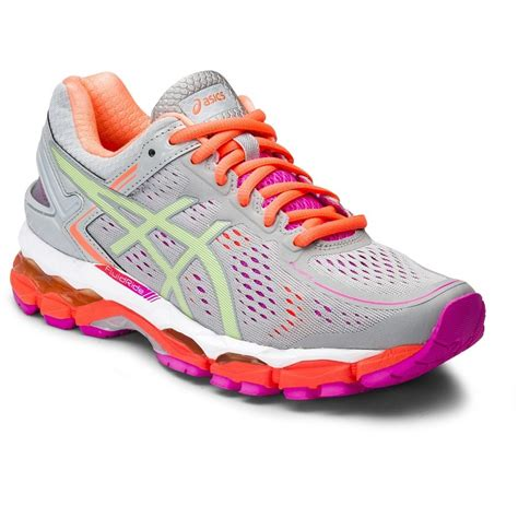 kayano womens running shoes asics gel kayano 22 d womens running shoes silver