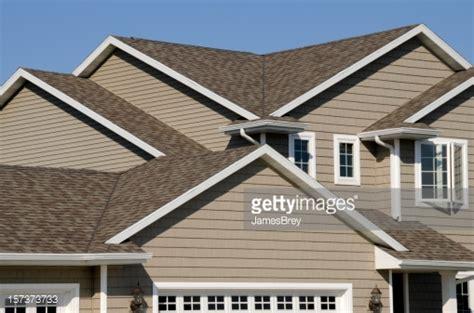 Shingle Gable Roof New Residential House Architectural Asphalt Shingle Gable