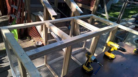 construir conejera paso paso construir una conejera seccional paso 8 frente a los