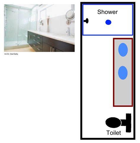 4 x 9 bathroom layout 15 free sle bathroom floor plans small to large