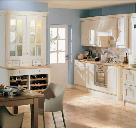 country kitchen painting ideas kitchen simple brown ceramic floor tile paired with white
