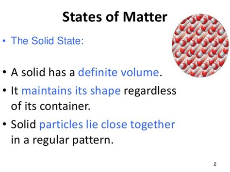 Olagunju Pp Presentation States Of Matter State Of The Presentations