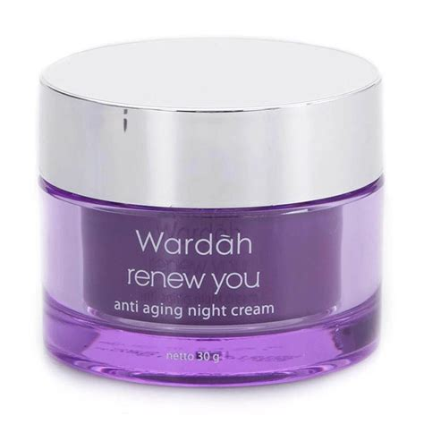 Wardah Renew You jual wardah renew you anti aging 30 g jd id