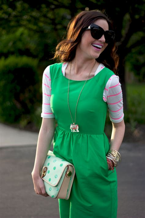 Strawberry Dress 3th lemon lime strawberry pink peonies by rach parcell