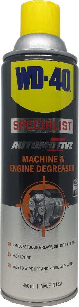 wd40 specialist automotive machine engine degreaser