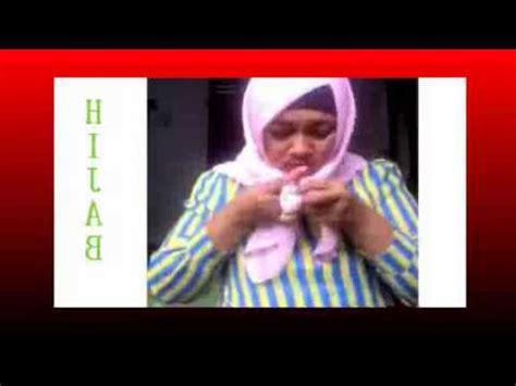 tutorial jilbab pita tutorial jilbab paris segi emat kreasi hijab pita dasi