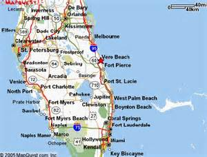 vero florida map map of florida vero deboomfotografie