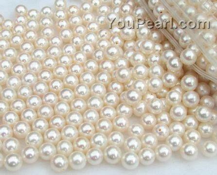 pearl bead 6 6 5mm white pearl wholesale aa