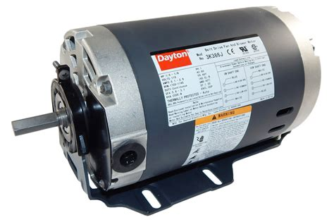 whole house fan motor 1 3 hp 1725 rpm 2 speed 115v whole house fan motor dayton