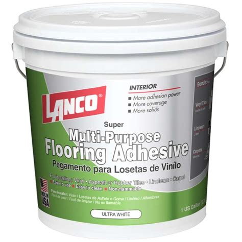 lanco 1 gal multi purpose flooring adhesive ka542 4 the