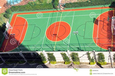 Backyard Soccer Download Basketball Court Royalty Free Stock Photos Image 30698358