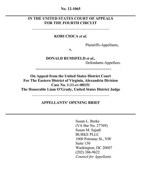 Appellate Brief Briefformat Burke Cicoa Appeal Brief Protect Our Defenders