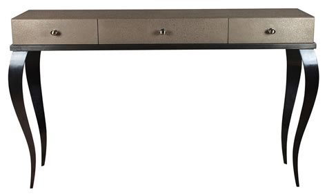 console table with drawers bronzed brass finish together