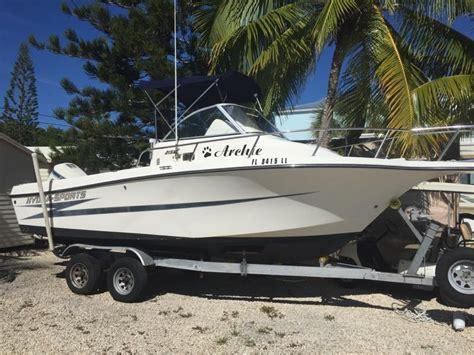 fishing boat for sale wa 1995 used hydra sports 2150 wa walkaround fishing boat for