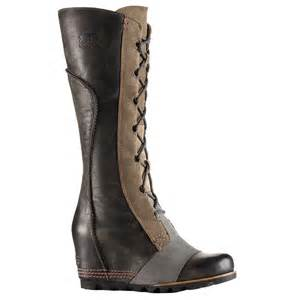 sorel cate the great wedge waterproof boots s ebay