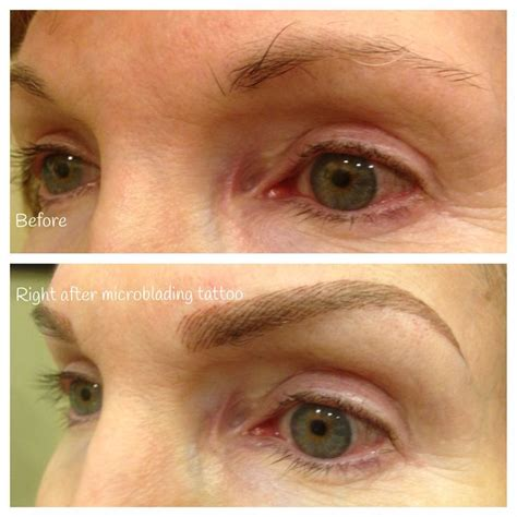 semi permanent tattoo 6 months 294 best microblading before and after images on