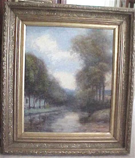 antique paintings for sale antique impressionistic on canvas aw 9958 from