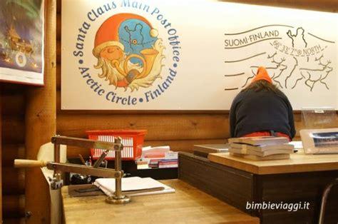 ufficio postale babbo natale incontrare babbo natale in lapponia il santa claus