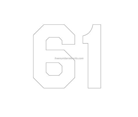 printable football jersey numbers football jersey template printable stencils