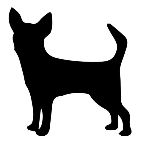 Chihuahua Silhouette Wall Stickers Creative Multi Pack
