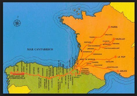 el camino de santiago map el camino de santiago coolhikinggear