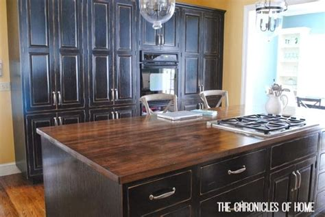 Staining And Sealing Butcher Block Countertops by How To Stain And Seal Butcher Block Counters