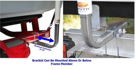 mounting boat trailer guides mounting boat trailer guide ons to triton boat trailer