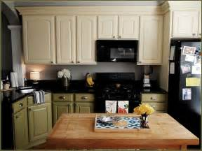 Beige Kitchen Cabinets by Antique Beige Kitchen Cabinets Home Design Ideas