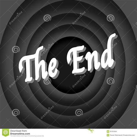 Or Ending The End Stock Illustration Illustration Of 1930 35781964