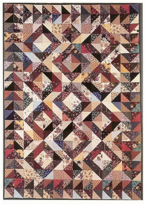 Scrap Quilt Patterns For Beginners by Square In Square Quilt Pattern Patterns Gallery
