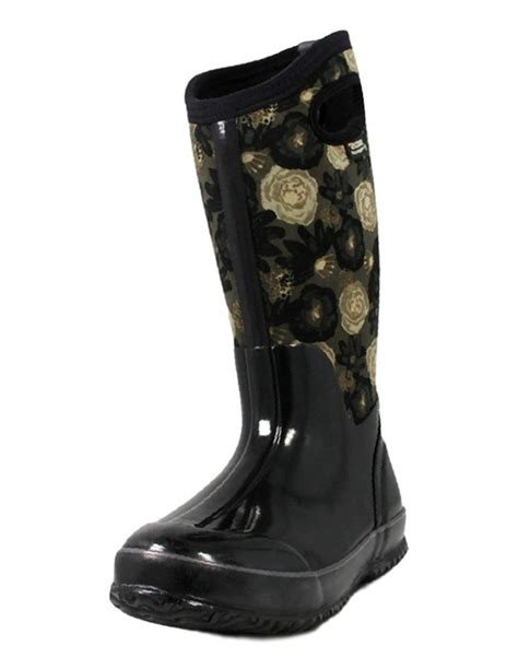 bogs boots womens classic watercolor wp insulated 71787
