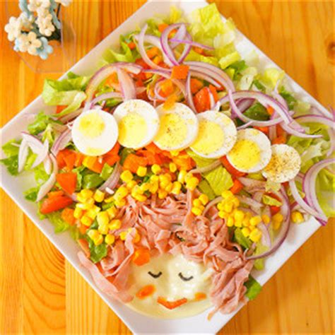 salad decoration at home fun salad decoration ideas working mom s edible art
