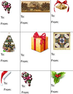 print your own gift tags make your own free gift tags visihow
