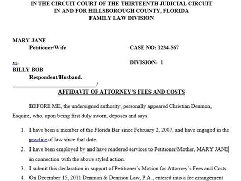 Foreign Divorce Opinion Letter Sle Sle Divorce Affidavit Letter 52 Images Notarized