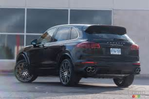 Porsche Cayenne S 2016 Porsche Cayenne Turbo S And Lessons About Gravity