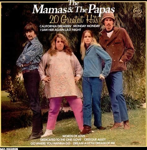 mamas and papas best of the s and the papa s 20 greatest hits uk vinyl lp
