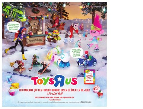 toys r us lap catalogue circulaire toys r us canada no 235 l 2016