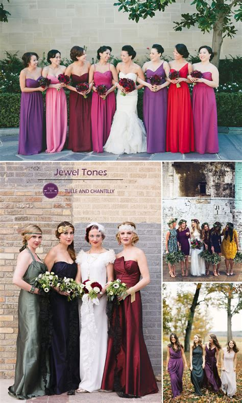 Top 10 Colors for Fall Bridesmaid Dresses 2015   Tulle