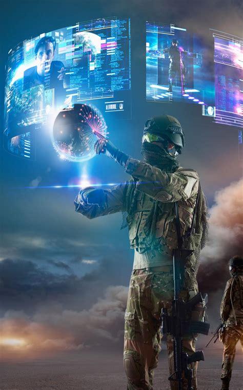 wallpaper virtual 3d virtual reality of future military download free 100